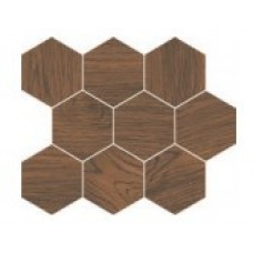 Декор Cersanit Finwood ochra mosaic hexagon 28X33,7