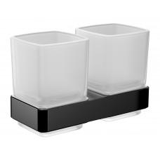 Двойной стакан Emco Loft black 052513300