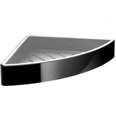 Угловая полочка Emco Loft black 054513303