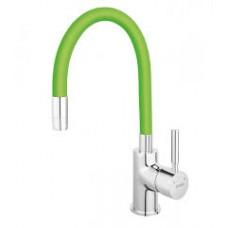 Смеситель для кухни Ferro Zumba зеленый BZA4G