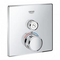 Смеситель с термостатом для душа и ванны GROHE Grohtherm Smartсontrol 29123000