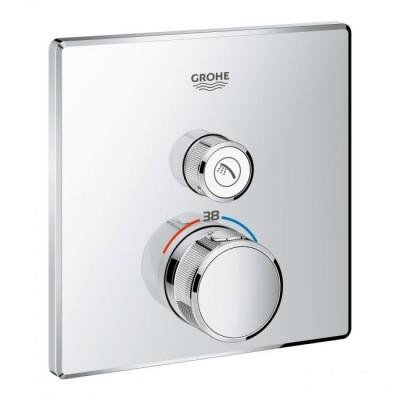 Смеситель с термостатом для душа и ванны GROHE Grohtherm Smartсontrol 29123000  , фото 1