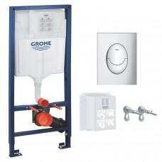 Инсталляция для унитаза Grohe Rapid SL (39503000) 3в1 комплект для подвесного унитаза