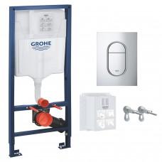 Инсталляция для унитаза Grohe Rapid SL (39504000) 3в1 комплект для подвесного унитаза