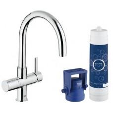 Смеситель для кухни Grohe Blue 33249001, с функцией очистки водопроводной воды