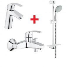 Комплект смесителей для ванны Grohe EUROSMART NEW 123246