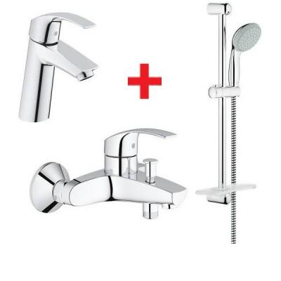 Комплект смесителей для ванны Grohe EUROSMART NEW 123246, фото 1