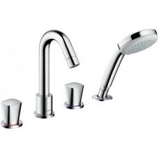 Смеситель для ванны на 4 отверстия Hansgrohe Logis 71314000