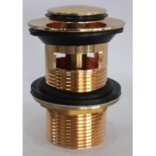 Донный клапан Imprese PP280 zlato, золото