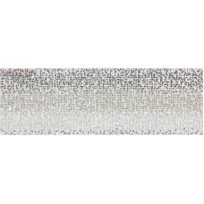Декор Opoczno Mirror grey inserto geo 25х75