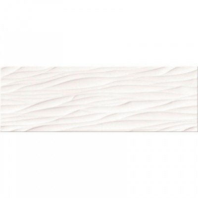 Плитка Opoczno Structure Pattern White Wave Structure 25х75, фото 1