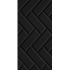 Плитка для стен Paradyz Moonlight nero struktura a 29,5x59,5