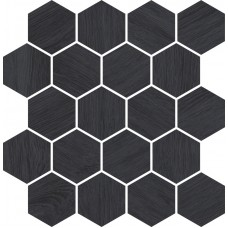 Мозаика Paradyz Taiga 25,8x28 grafit wood