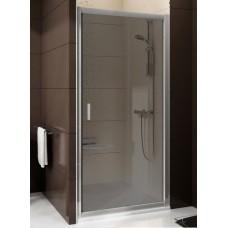 Душевая дверь Ravak Blix BLDP2-110, полированный алюминий/transparent (0PVD0C00Z1)