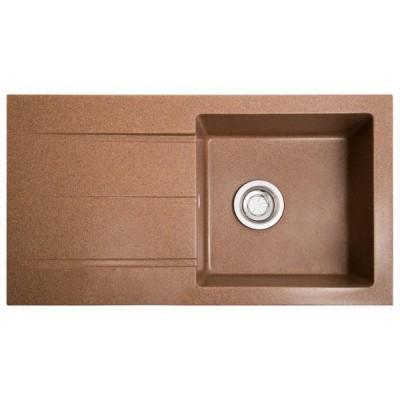 Кухонная мойка Solid Quadro 780х435х160, фото 1