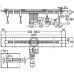 Душевой лоток Viega Advantix Vario 704360, дизайн-вставка Visign SR2 глянцевая , фото 2