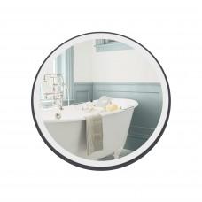 Зеркало Qtap Robin R600 Black с LED-подсветкой и антизапотеванием QT13786501B