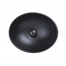 Раковина Qtap Dove 410х335х145 Matt black QT063078MBMB