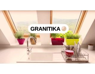 Кухонные мойки из искусственного камня GRANITIKA
