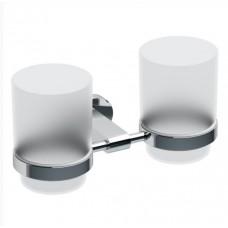 Держатель с двумя стаканами д/зубных щеток RAVAK Chrome (стекло)CR 220.00