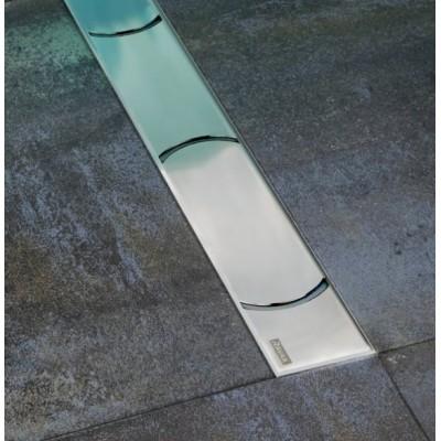 Душевой канал OZ RAVAK Chrome 1050 - нержавеющая сталь, фото 1