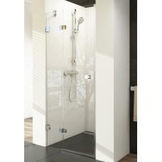 Душевая дверь Ravak Brilliant BSD2-80 L, стекло прозрачное, левая