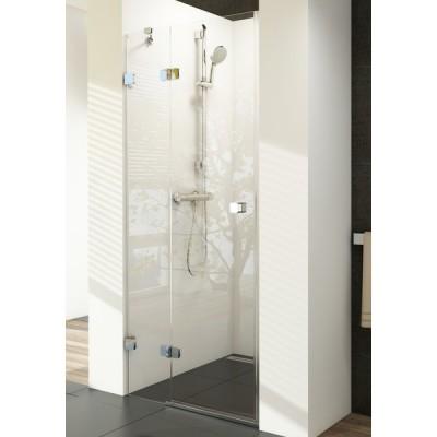 Душевая дверь Ravak Brilliant BSD2-80 L, стекло прозрачное, левая, фото 1