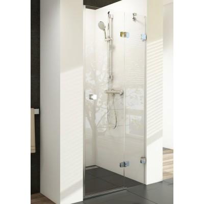 Душевая дверь Ravak Brilliant BSD2-100 R, стекло прозрачное, правая, фото 1