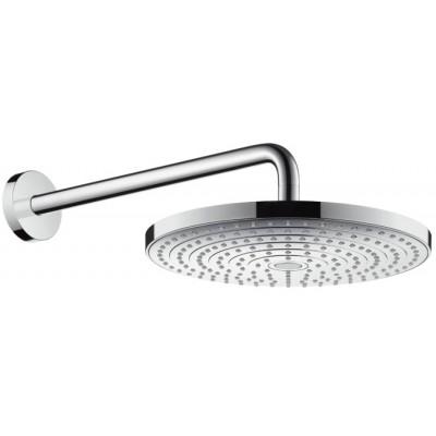 Верхний душ Hansgrohe 27378400 Raindance Select S 300 2jet с держателем 390мм, бел/хром, фото 1