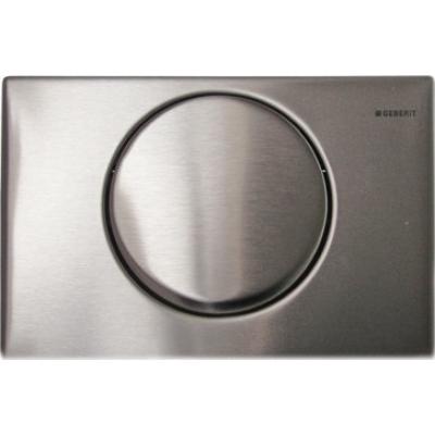 Смывная клавиша Geberit Delta 15, 115.101.00.1 нерж. сталь, фото 1