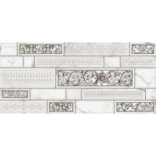Декор для стен Интеркерама PLAZA 23x50, серый 071