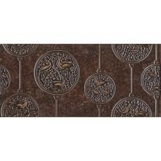 Декор для стен Интеркерама Нобилис 23х50,коричневый