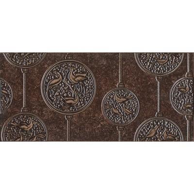 Декор для стен Интеркерама Нобилис 23х50,коричневый, фото 1