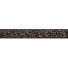Фриз для стен Интеркерама Нобилис вертикальный 50х7,коричневый