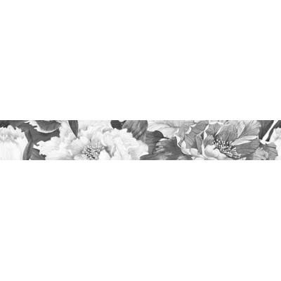 Фриз для стен Интеркерама METALICO БОРДЮР ВЕРТИК ЧЁРНЫЙ 70х500, фото 1