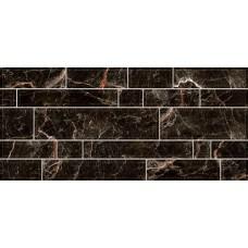 Плитка для стен Интеркерама PLAZA 23x50, черная 082