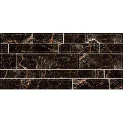 Плитка для стен Интеркерама PLAZA 23x50, черная 082, фото 1