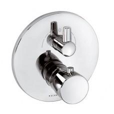 Смеситель для ванны Kludi Balance термостат хром 528300575, встраиваемый