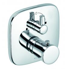 Смеситель для ванны Kludi Ambienta встраиваемый термостат хром 538300575