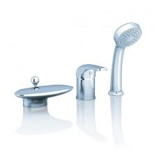 Смеситель для ванны Ravak Rosa RS 025.00 врезной